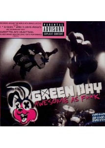 CD-DVD Green Day Awesome As Fuck