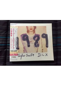 CD/DVD Taylor Swift 1989 Deluxe Edition (Japan Edition)
