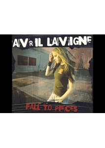 CD Single Avril Lavigne Fall To Pieces