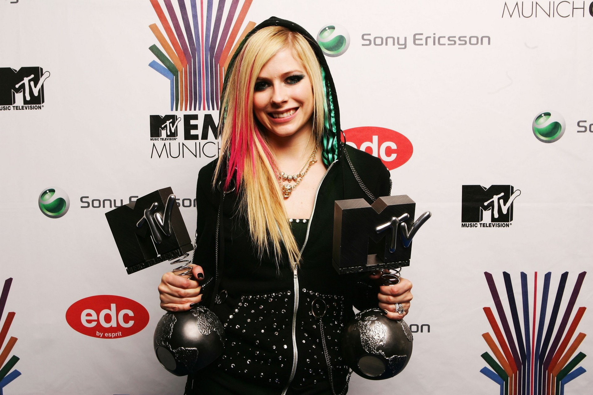 Awards Room At The MTV Europe Music Awards 2007